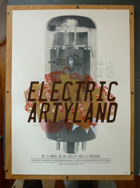 """exposition """"rock'n graph"""" dans le cadre de l'évènement """"Electric Artyland"""""""