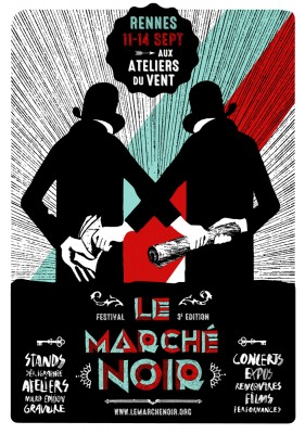 AFFICHE-LeMarcheNoir-2014-Rennes
